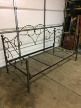 Metal frame day bed in Oswego, Illinois