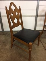 Vintage wood side chair in Oswego, Illinois