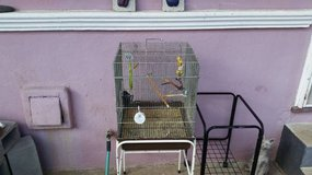 Birdcage and Stand in Vacaville, California