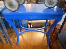 Bold Blue Table in St. Charles, Illinois