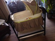 Summer Infant Classic Comfort Wood Basinet in Roseville, California