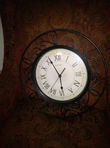 Decorative Wall Clock I will be in Fairfield on 6/16 if you want me to bring this item in Roseville, California