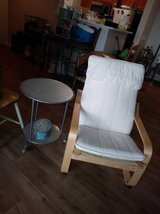 Bent Maple Wood Back Saver Zero Gravity Chair Removable Pad in Travis AFB, California