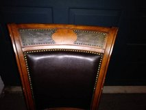 4 Traditional Poker Chairs Solid Wood in Travis AFB, California