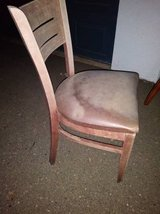 Vintage chalk brown chair in Roseville, California