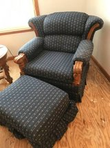 Chair with ottoman in Lockport, Illinois