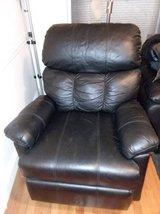 SOFA Black / Recliner in Fairfax, Virginia