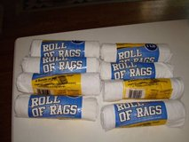 Roll of Rags 1lb Package re-usable lint-free alternative terry, paper in Brookfield, Wisconsin
