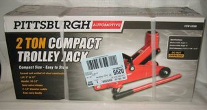 PITTSBURGH AUTOMOTIVE 2 TON COMPACT TROLLEY JACK - NEW IN BOX in Lockport, Illinois