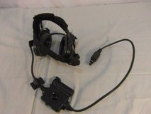 usgi army bose black olive drab triport tactical communication headset 31739 in Fort Carson, Colorado