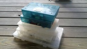Lot of small storage boxes - great for tackle in Tomball, Texas