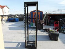 hammond manufacturing cabinet rack black powder coat #c2f197823bk1  32075 in Huntington Beach, California
