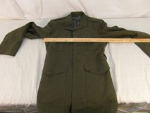 united states marine corps green button up alpha dress coat w/o belt! 31577 in Fort Carson, Colorado