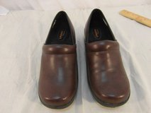 adult womens safe t step comfort brown faux leather safety work shoes 31689 in Fort Carson, Colorado