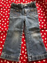 Girls Denim Jeans size 3T in Naperville, Illinois