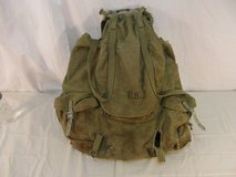 vintage original wwii ww2 1942 us army backpack w steel frame meese 31776 in Fort Carson, Colorado