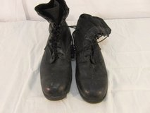 military hot weather jungle police tactical boots lace up leather size 13 31573 in Fort Carson, Colorado