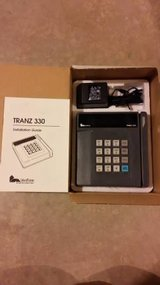 Merchant credit card machine, Trans 330 in Elgin, Illinois