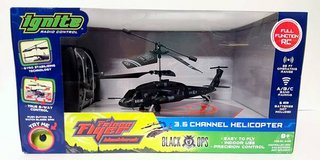 New! Ignite Black Ops Black Hawk Falcon Remote Control Helicopter in Orland Park, Illinois