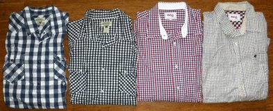 (4) Men's XXL Long Sleeve Dress Shirts American Rag Cie + Stafford 2XL in Orland Park, Illinois