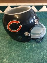 Bears nfl chip n dip helmet in New Lenox, Illinois
