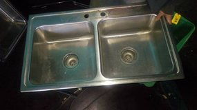 Stainless Steel HEAVY DUTY 2 Bay Sink in DeKalb, Illinois