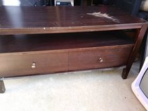 Coffee table with storage drawer in Vacaville, California