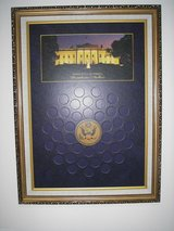 World Reserve Monetary Exchange presidential dollar display pre-owned #2592 in Fort Belvoir, Virginia