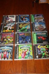 Over 30 PS1 Games, Each $10.00 and Under in Spring, Texas
