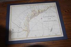 Contours of Discovery: Printed Maps Delineating the Texas in Houston, Texas