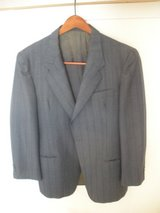 38 - 40R Lanerossi wool dark blue/green teal sport coat blazer italy 48 in Plainfield, Illinois