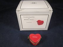 MIDWEST CANNON FALLS Candy Heart Pill Box LOVE Hinged Valentines Day in Aurora, Illinois