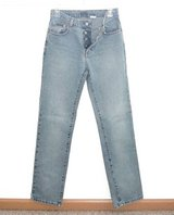 Womens 3 Juniors  Vintage 90's Calvin Klein Button Fly Jr Low Rider Tapered Jeans in Morris, Illinois