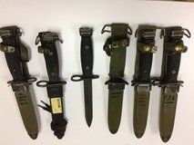 US Military M-7 Bayonets in Good Condition in Clarksville, Tennessee