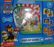 Nickelodeon Paw Patrol Trouble Pop Up Game, Memory Match Game 72 Cards in Batavia, Illinois