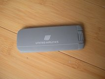 "united airlines lint brush vintage 4"" in Shorewood, Illinois"