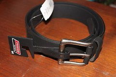 dickies leather belt - black size 36 - nwt in Kingwood, Texas