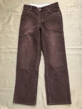 Boys pants size 12 Land's End brown Corduroy in Naperville, Illinois