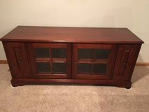 **TV / Entertainment center stand top & bottom- Cherry in Bolingbrook, Illinois