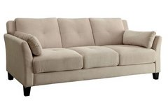 New! Ysabel  Beige Tan Flannelette Sofa FREE DELIVERY in Camp Pendleton, California