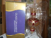 New Holiday Glass Boxed Christmas Ornament!  Pretty in Box in Bellaire, Texas