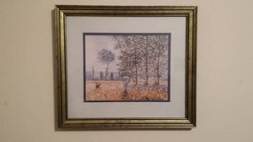 Claude Monet Felder Im Frühling Landscape framed print in Chicago, Illinois