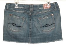 Candies Denim Jean Mini Skirt Womens 11 Juniors in Joliet, Illinois