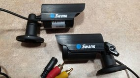 2 Swann ADS-100 Security Cameras with Night Vision and Audio in Chicago, Illinois