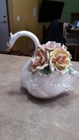 1940's Vintage Capodimonte Swan in Chicago, Illinois