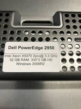 Dell PowerEdge 2950 - Ready in Chicago, Illinois