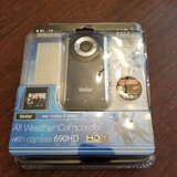 vivitar dvr 690hd camcorder -  light blue in Naperville, Illinois