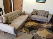 New! Linen Gray Tan Sofa and Loveseat FREE DELIVERY in Camp Pendleton, California