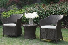 New! Outdoor Set 2 Chairs + Table Bistro Patio FREE DELIVERY in Oceanside, California