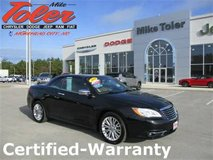 2014 Chrysler 200 limited convertible-Certified-Warranty(Stk#14912a) in Cherry Point, North Carolina